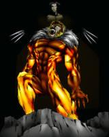 Sabretooth and Logan by drock03