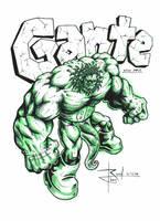 GANTE fanart by drock03