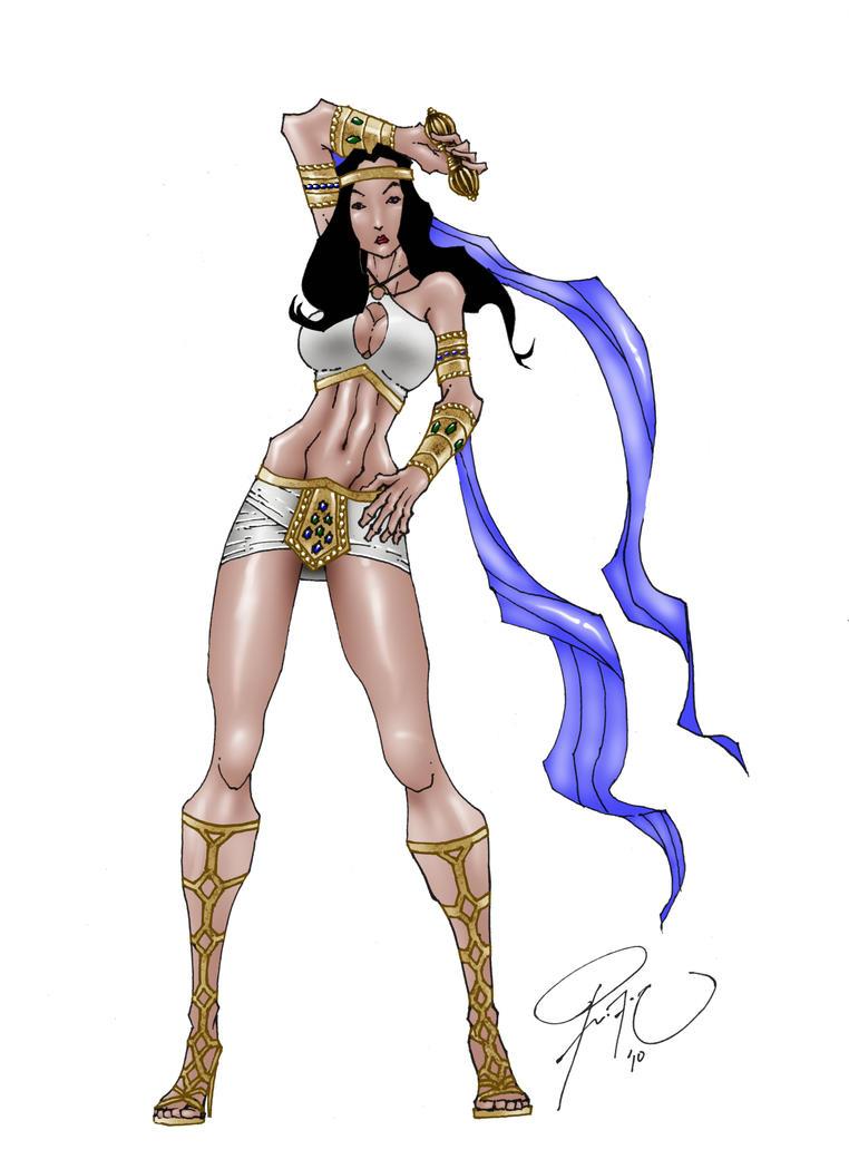 Commish 18: Atlantea by drock03