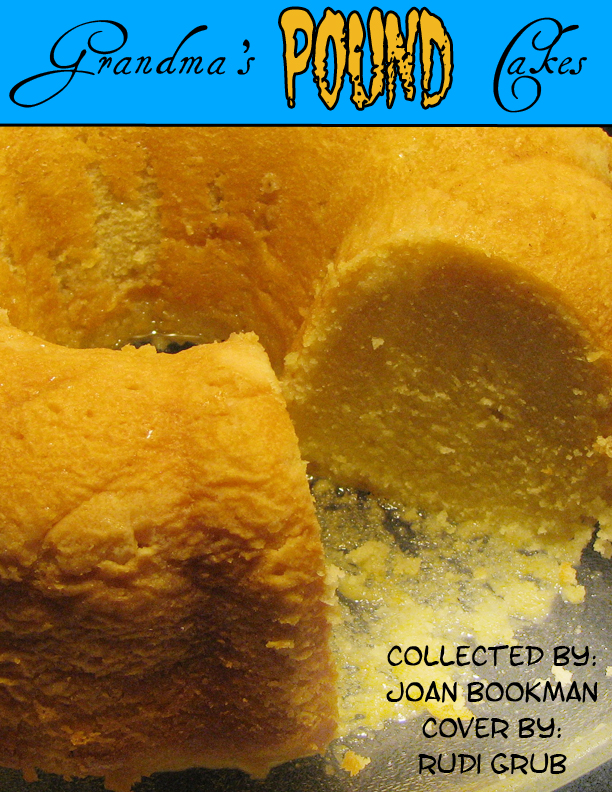 Pound Cake Bookcover 2 by RudiKazootie
