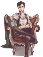 THE KING AND HIS THRONE by jakuzure