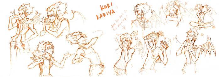 Kariya sketches