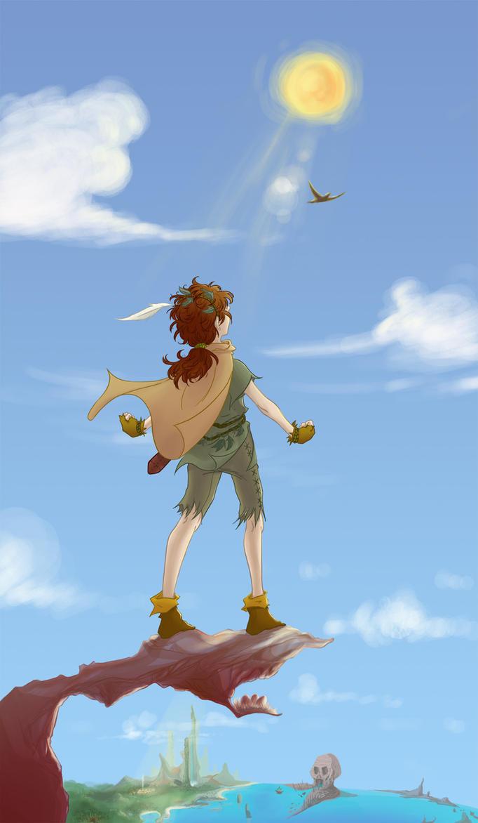 Peter Pan by pikapikashuichi