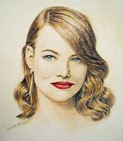Emma Stone by ArtbyCharlotte