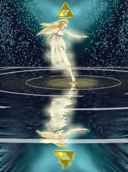 Princess Zelda, wielder of wisdom by Artistfan62