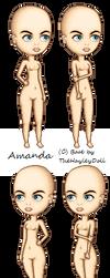 Amanda Base by Orange-Bubbles