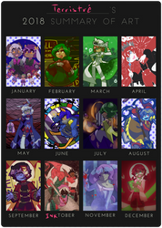 2018 Summary Of Art by Terristre