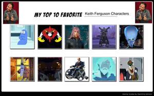 My Top 10 Favorite Keith Ferguson Characters