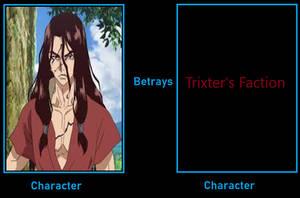 Tsukasa betrays Trixter's Faction