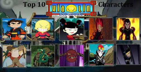 My Top 10 Xiaolin Showdown Characters