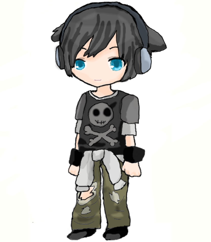 Cute Chibi Boy Drawing Cool Chibi Boy by Chocomax