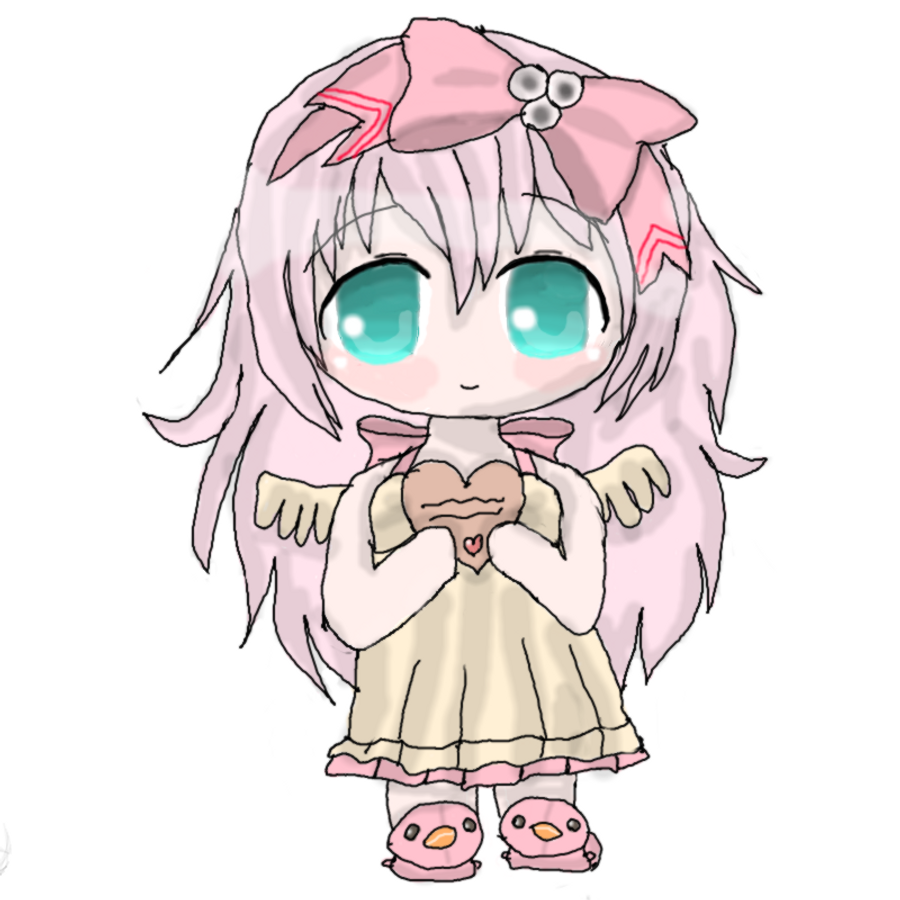 Cute Little Chibi Girl Cute Little Chibi Girl Clipart