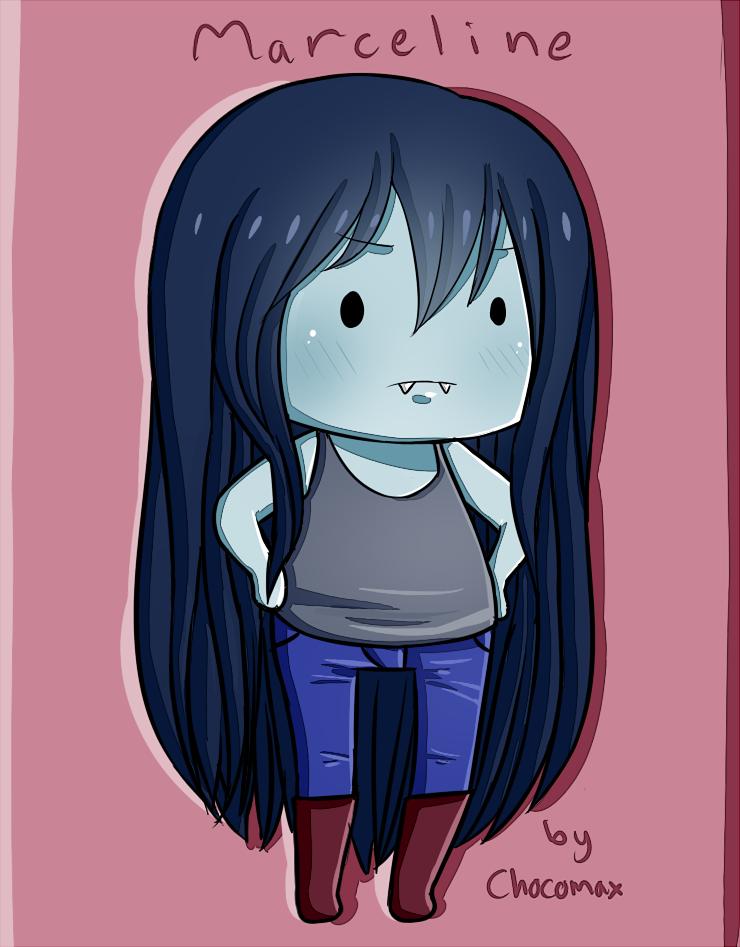 Adventure time fan art: Marceline chibi by chocomax on ...