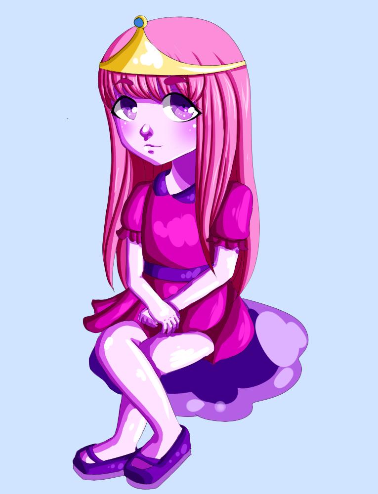 Princess Bubblegum by Llamaorama on DeviantArt