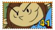 Numbuh 41 fan stamp by pinkandorangesunset