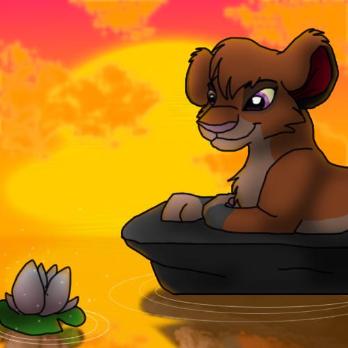 Mis dibujillos!! Water_lily_by_rioperla-d4i7ym8