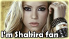 Shakira stamp by RIOPerla