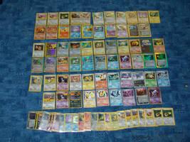 Eeveelution Card Colection by EeveeFanClub