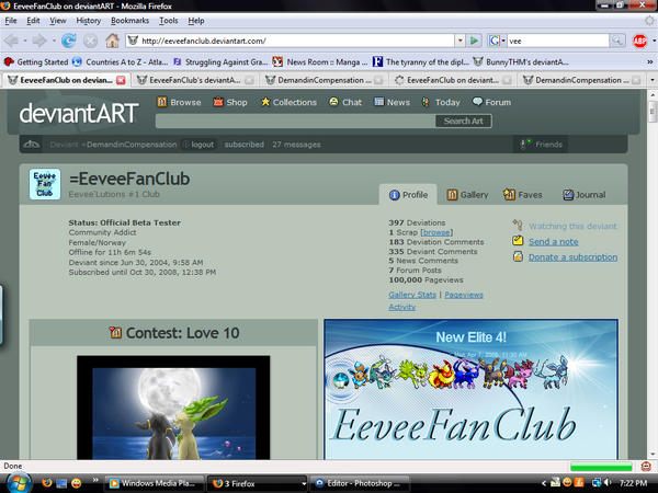 Thanks for 100,000 by EeveeFanClub