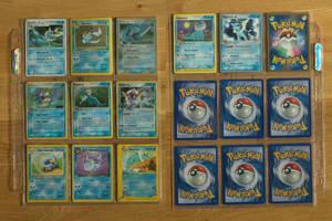 +Vaporeon Pokemon Cards+ by EeveeFanClub