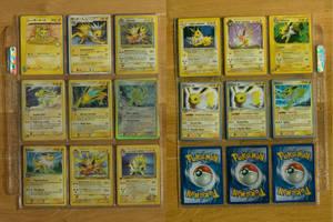 +Jolteon Pokemon Cards+ by EeveeFanClub