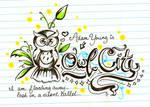 Owl City Doodle