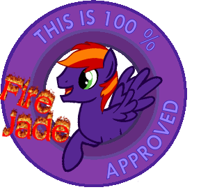 100% approved by Fire Jade commission by TwitterShy