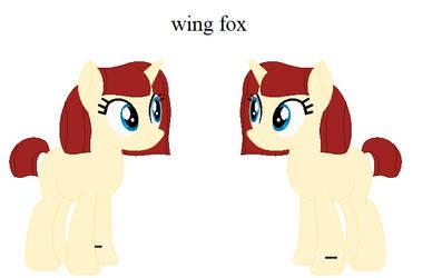 Wing Fox ( Ponysona)