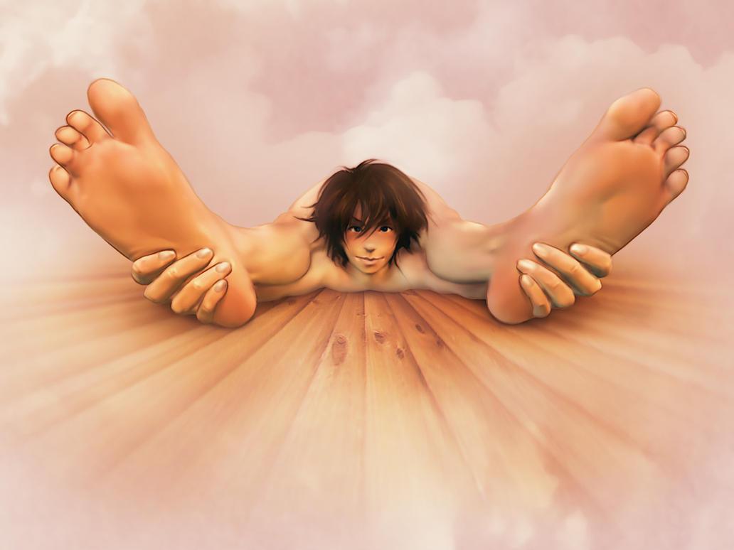 Footsies :3 by yuni
