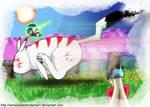 Adventures of Ry-ssun and Okachu by nemesisdestrodareal1