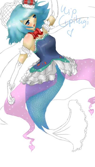 Sayaka Miki WIP by Cupikagi