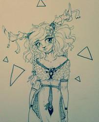 A Deer Girl