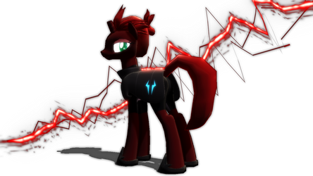 MMD x MLP Newcomer: Tempest Shadow by Zoroark67