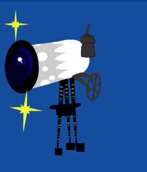 Telescope by Minaloria