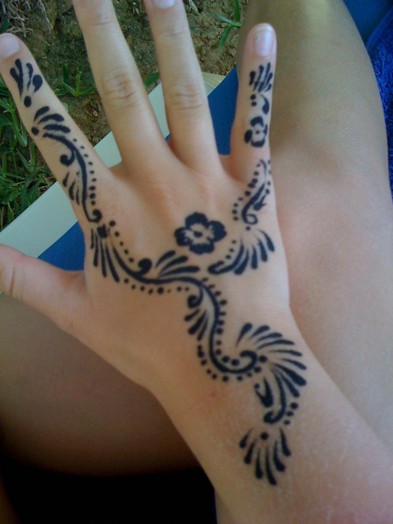 Henna Tattoo That Lasts 6 Months: My Henna Tattoo That I Got In Tunisia! By