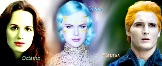 Hunger Games Trio: Octavia, Venia, Flavius by Inuyasha1014 on ...