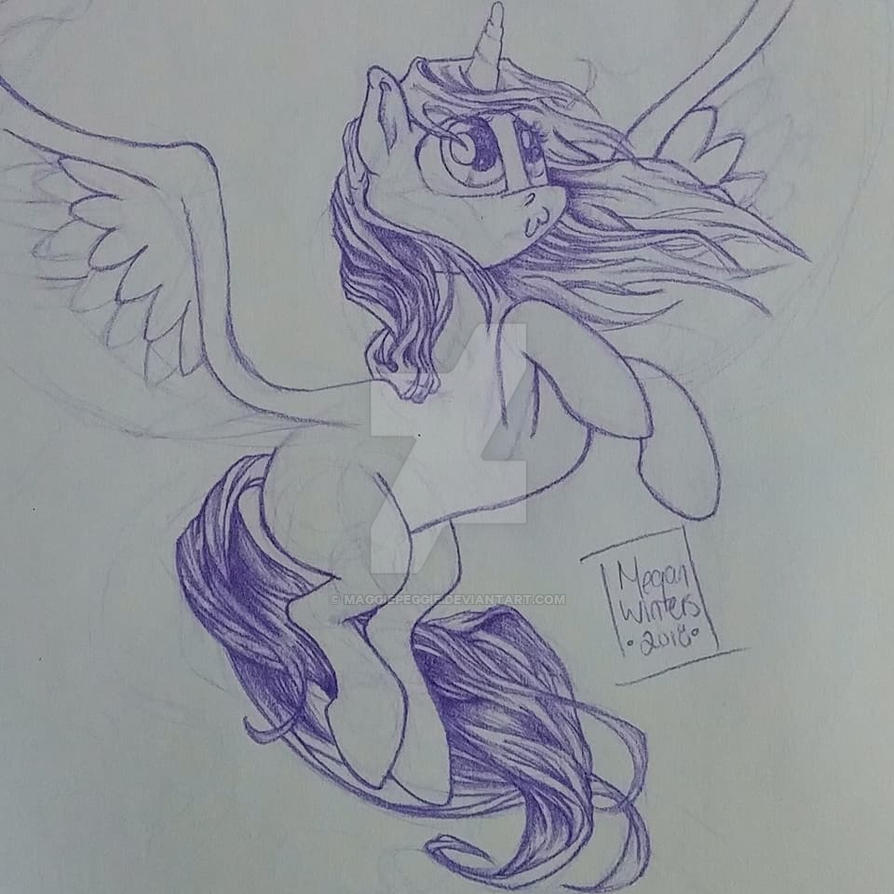 My Little Durpy by maggiepeggie
