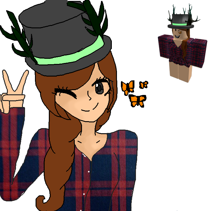 Cool Anime Drawing Roblox Character