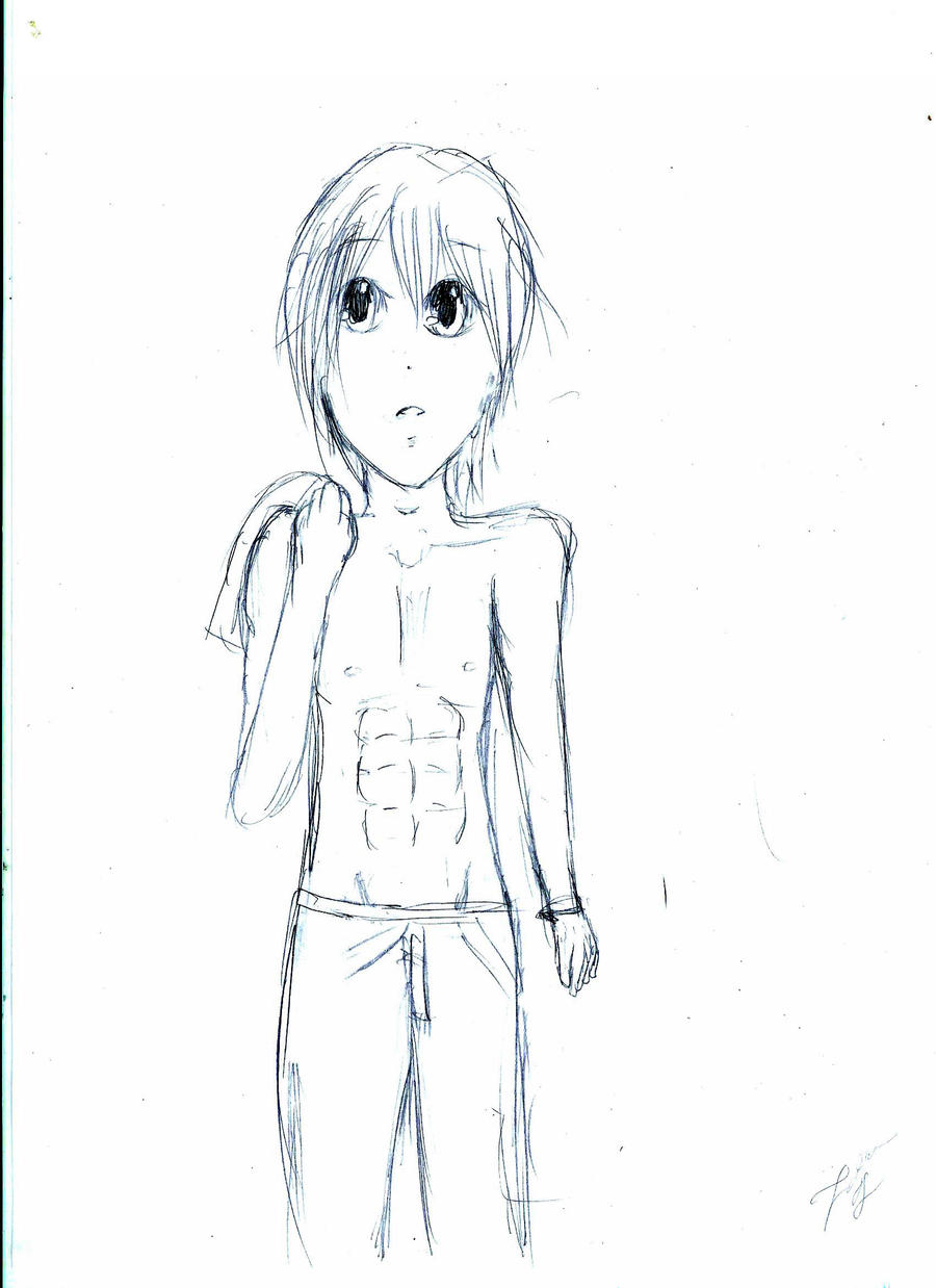 It's just a picture of Decisive Anime Abs Drawing