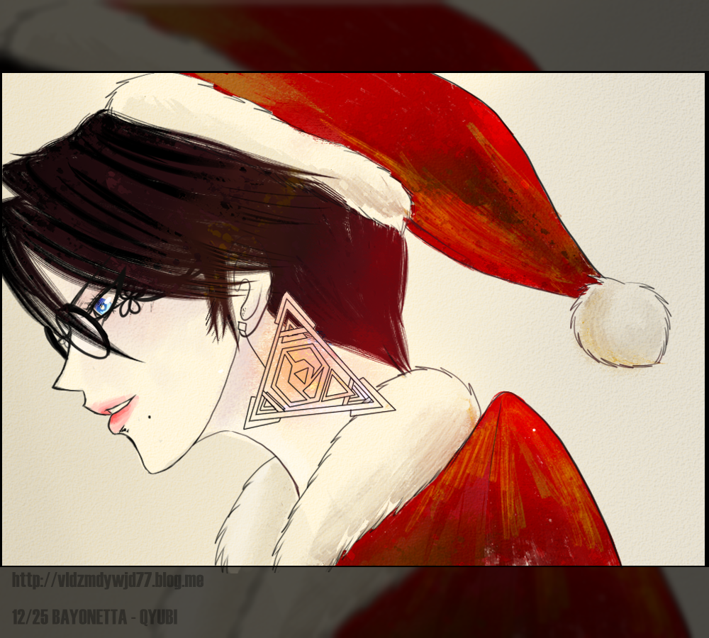 1225 Bayonetta Merry christmas by Qcrobixm on DeviantArt