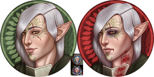 Inquisitor Portraits by Ghilenan