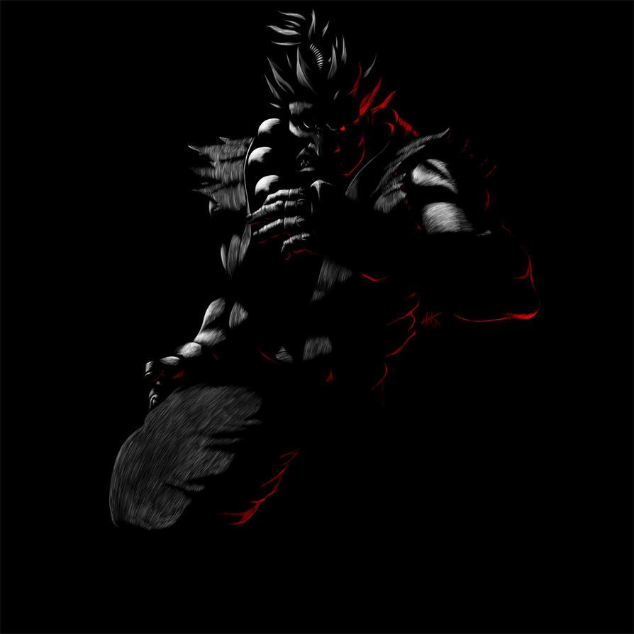 Street Fighter 25th Anniversary Akuma Sgs By Hekoo On Deviantart