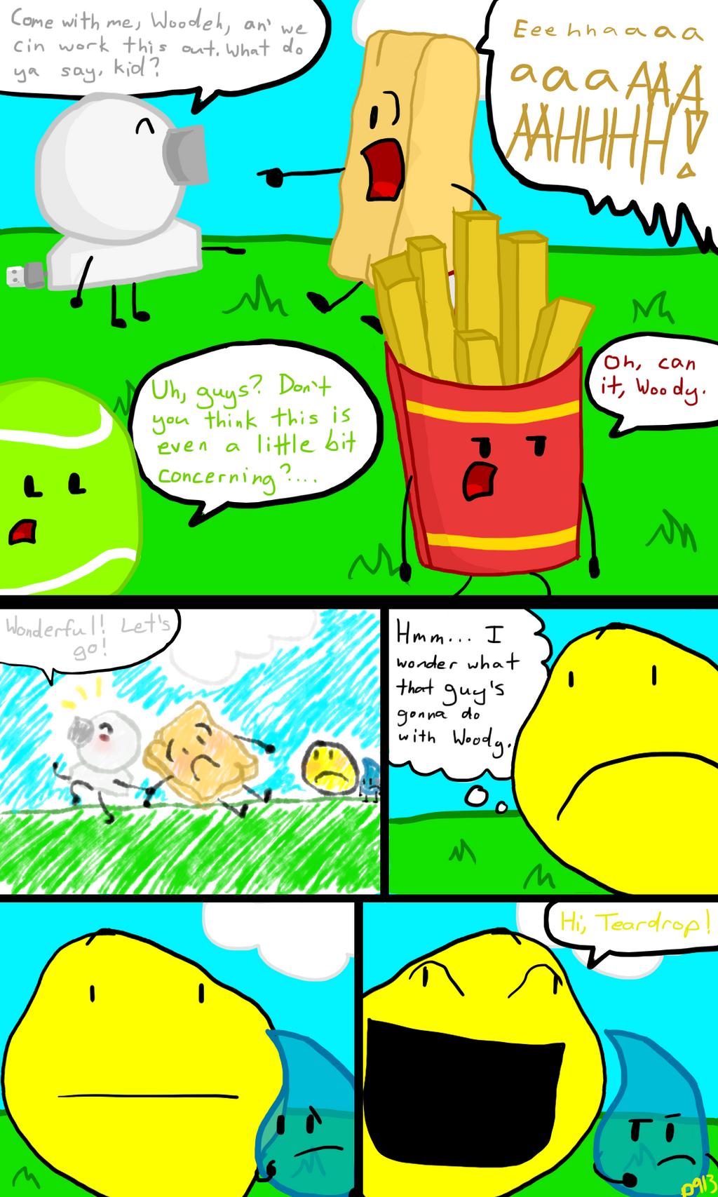 Bfdi A Comic Part 7 A Bit Of A Doormat By