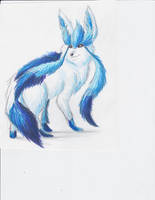 december 15th 2012: Glaceon by UltimateSassMaster