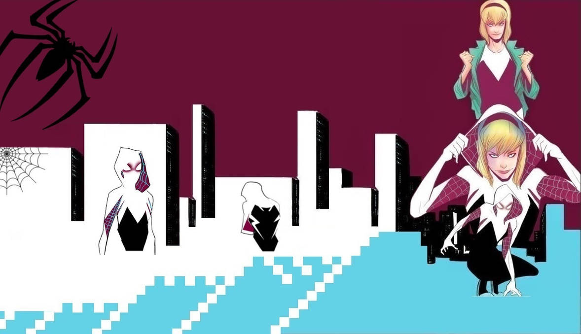 Spider-Woman (Gwen Stacy) Wallpaper.