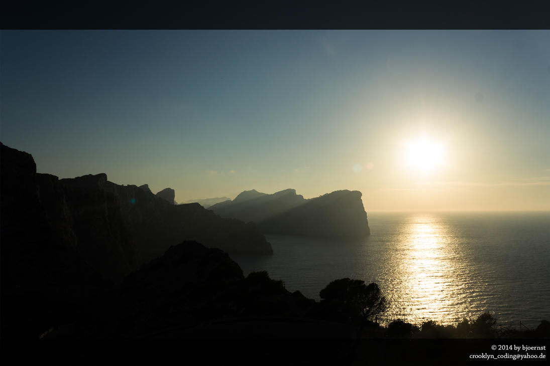 Cap Formentor Sunset by bjoernst