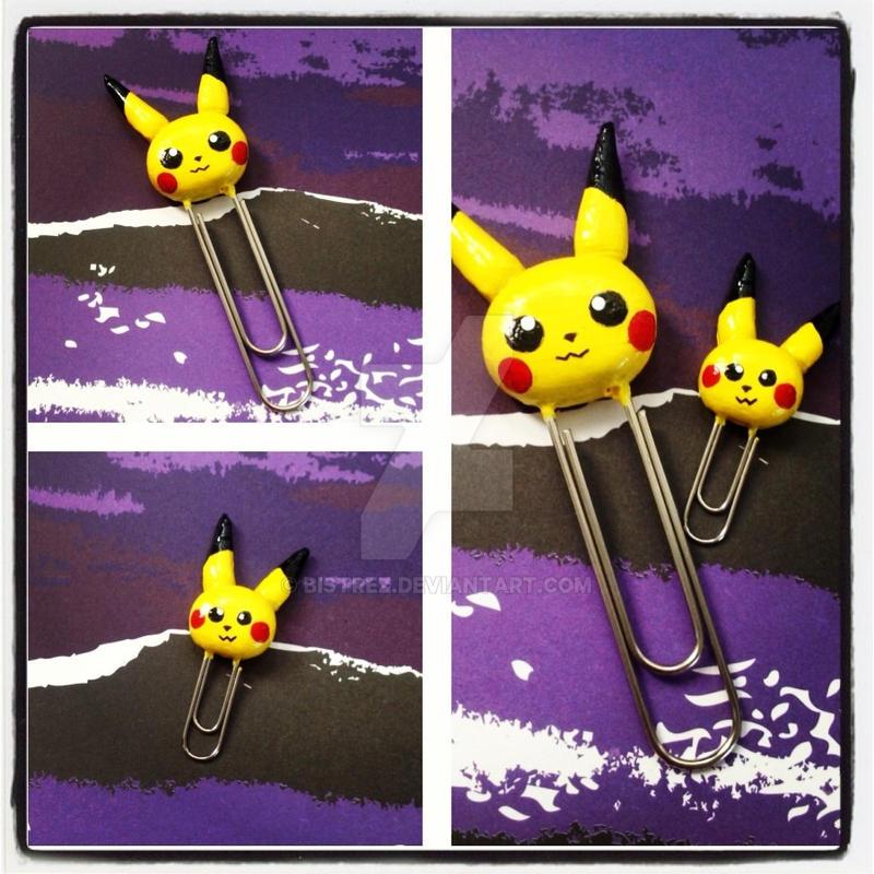 Pikachu Paperclips by Bistrez