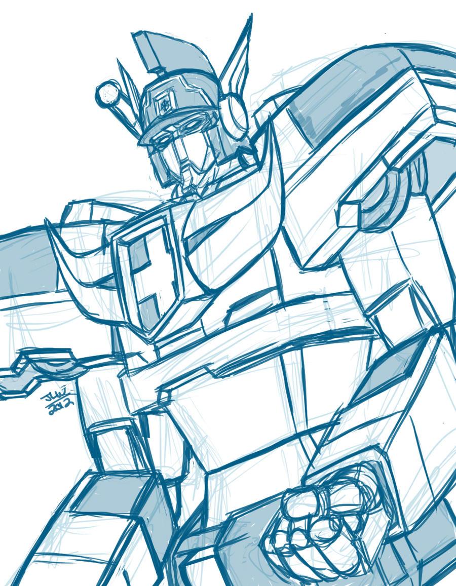 Sketch request: Duke Fire by Wrecker-lady