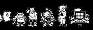 ClassicSwap- Full Cast Battle Sprites