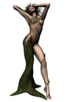 sprite dryad waking up
